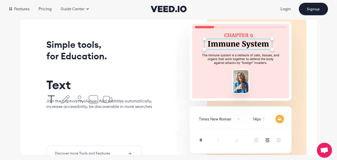 VEED for Education